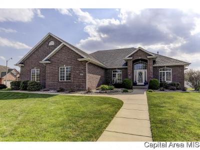 Springfield Single Family Home For Sale: 6609 Carlisle Bnd