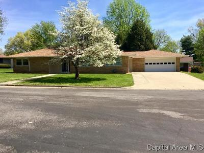 Jacksonville IL Single Family Home Pending Continue to Show: $189,900