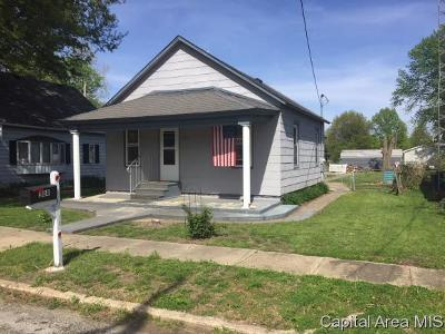 Bulpitt IL Single Family Home For Sale: $33,000