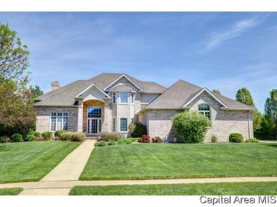 Springfield Single Family Home For Sale: 3405 Embassy Dr