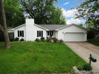 Chatham Single Family Home For Sale: 814 Timberhill Dr