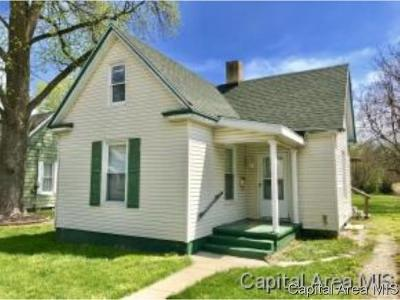 Jacksonville IL Single Family Home Pending Continue to Show: $49,900