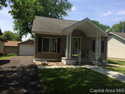Pawnee Single Family Home For Sale: 215 9th St