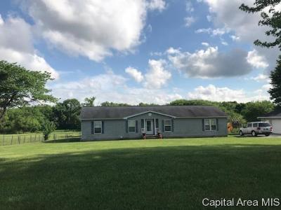 Pleasant Plains Single Family Home For Sale: 14452 Walbaum Road