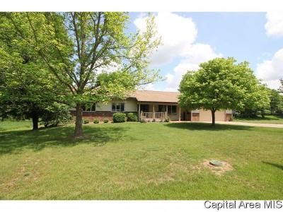 Cantrall Single Family Home For Sale: 1157 Geary Rd