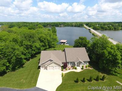 Sangamon County Single Family Home For Sale: 2 Idlewild Ln