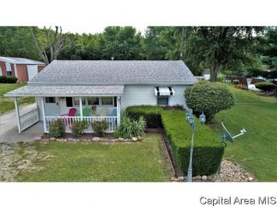 Pleasant Plains Single Family Home For Sale: 2670 N Farmingdale Road
