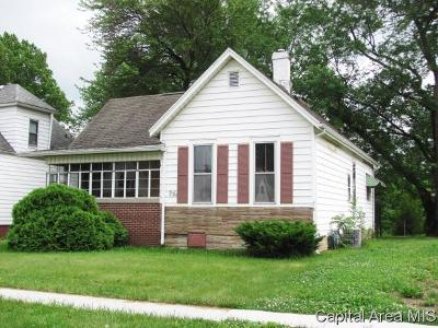 Springfield Single Family Home For Sale: 416 W Reynolds