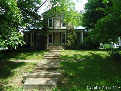 Virginia Single Family Home Pending Continue to Show: 401 E Illini St