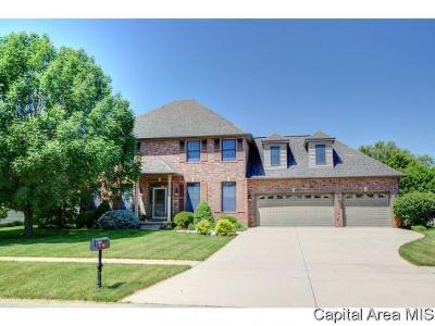 Springfield Single Family Home For Sale: 2721 Kipling Drive