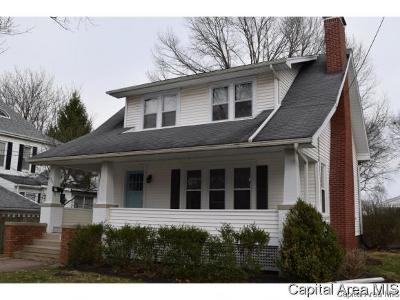Jacksonville Single Family Home For Sale: 274 N Webster