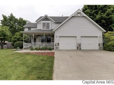 Sherman IL Single Family Home For Sale: $239,900