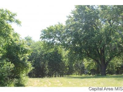 Sangamon County Residential Lots & Land For Sale: 2321 West Lake Shore Dr