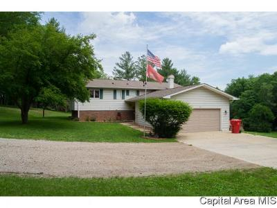 Pleasant Plains Single Family Home For Sale: 5158 Kinsinger Ln