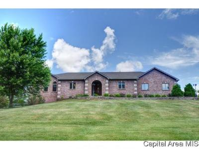 Sherman IL Single Family Home For Sale: $395,000