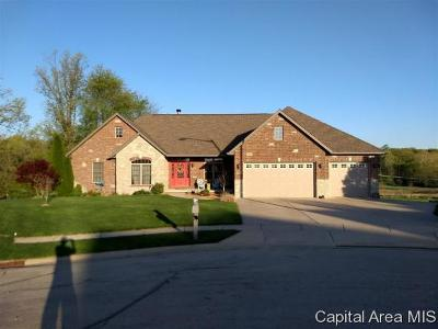 Springfield Single Family Home For Sale: 6116 Elisha Trail