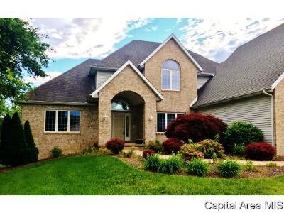 Springfield Single Family Home For Sale: 7401 Piper Glen Drive