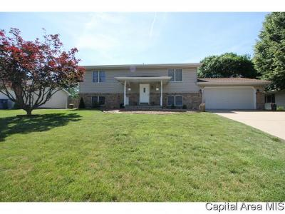 Sherman IL Single Family Home For Sale: $174,900