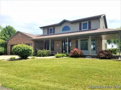 Springfield Single Family Home For Sale: 3986 Rochester Rd
