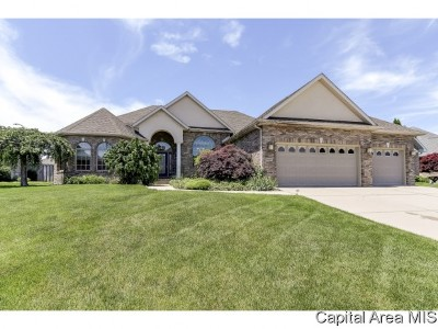 Springfield Single Family Home Pending Continue to Show: 1609 Cressa Ct