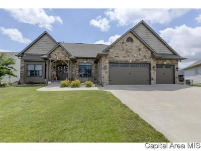 Springfield Single Family Home For Sale: 1408 Lake Pointe Ct