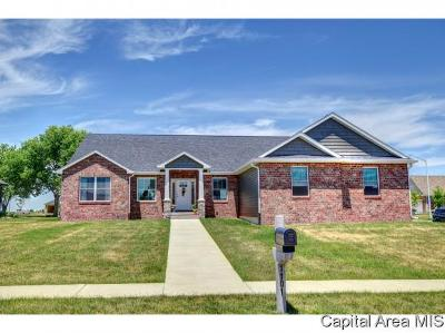 Sherman IL Single Family Home For Sale: $335,000