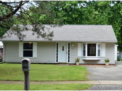 Springfield Single Family Home For Sale: 1837 Stonehenge Rd