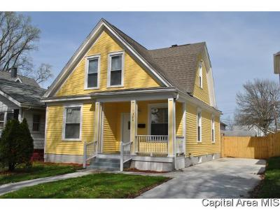 Springfield Single Family Home For Sale: 1320 N 3rd St