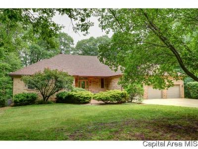 Carlinville Single Family Home For Sale: 19645 Timbered Estates Ln