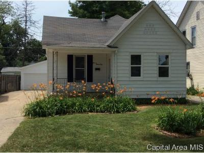 Springfield Single Family Home For Sale: 1131 N Patton St