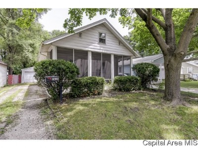 Springfield Single Family Home For Sale: 2616 Holmes