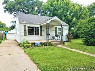 Springfield Single Family Home For Sale: 1933 E Keys Avenue