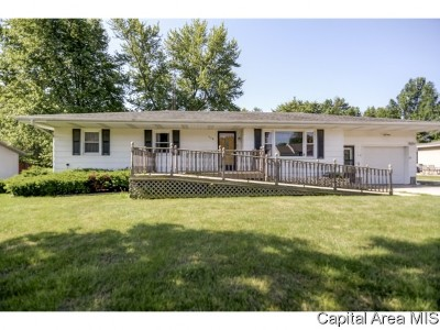 Morrisonville Single Family Home For Sale: 508 W North St
