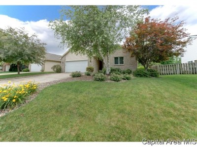 Springfield Single Family Home For Sale: 4110 McGregor Ln