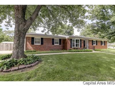 Springfield Single Family Home For Sale: 2605 Churchill Rd