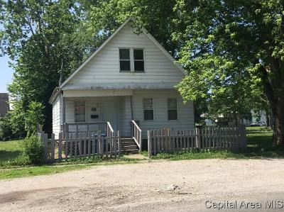 Springfield Single Family Home For Sale: 922 E Enterprise Street
