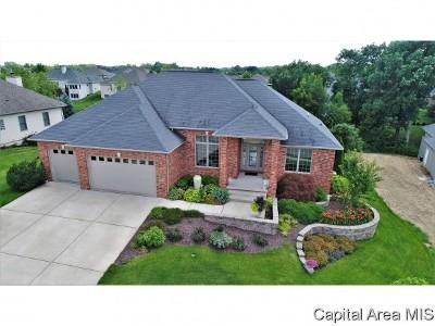 Springfield Single Family Home For Sale: 6108 Elisha Trail