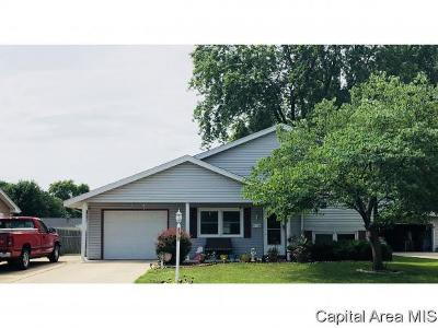 Springfield Single Family Home For Sale: 2616 Sherborn Rd