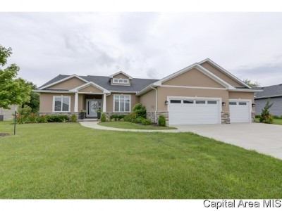 Springfield Single Family Home For Sale: 3608 Crystal Spring