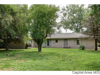 Virden Single Family Home For Sale: 35951 Boggs Rd