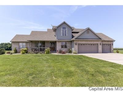 Pleasant Plains Single Family Home For Sale: 5551 Durango Trl