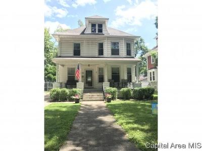 Springfield Single Family Home For Sale: 1334 Holmes Ave