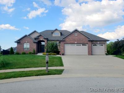 Springfield Single Family Home For Sale: 4405 Cricket Pt