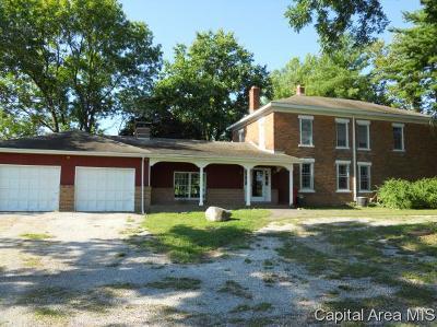 Pleasant Plains Single Family Home For Sale: 6650 Salisbury Cemetery Road