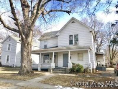 Jacksonville IL Multi Family Home For Sale: $43,900