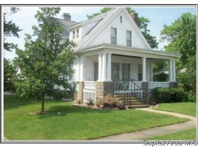 Pleasant Plains Single Family Home For Sale: 216 E Church St