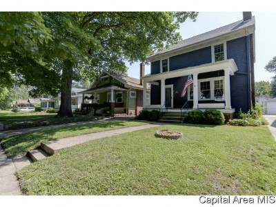 Springfield Single Family Home For Sale: 1712 S Lowell Ave