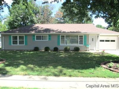 Jacksonville Single Family Home For Sale: 1602 S West St