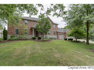 Springfield Single Family Home For Sale: 6408 Bent Tree Court