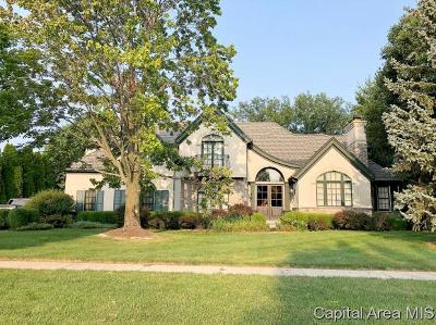 Springfield Single Family Home For Sale: 4504 Foxhall Lane